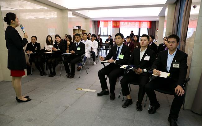大德k8彩票公司开展2018年营销人员培训会