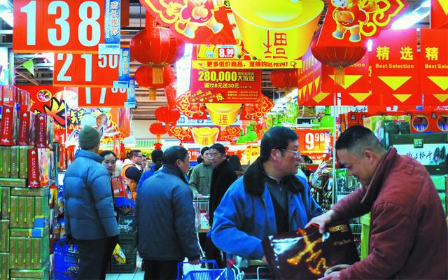 农历新年临近 滋补品热销年货市场